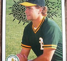081 - Curt Young by Foob's Baseball Cards