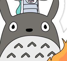 A tribute to Hayao Miyazaki (Updated) Sticker