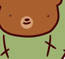 Bear Face Cactus Sticker