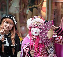 Tokyo Cosplay Girls by Mark Eden