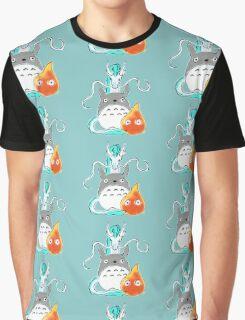 A tribute to Hayao Miyazaki Graphic T-Shirt