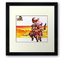 Pirate RPG Online Framed Print