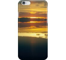 A Perfect Dawn: Lens Interference iPhone Case/Skin