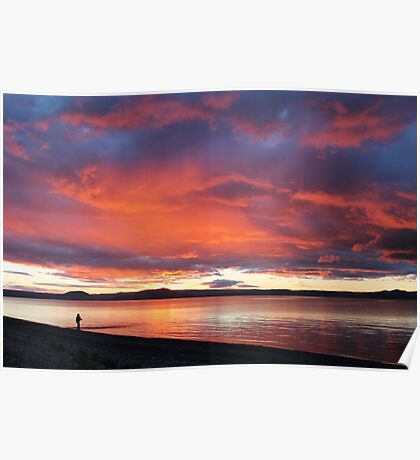 NZ Taupo New Zealand Poster