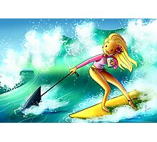 Surf Girl Photographic Print
