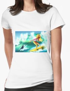 Surf Girl Womens Fitted T-Shirt