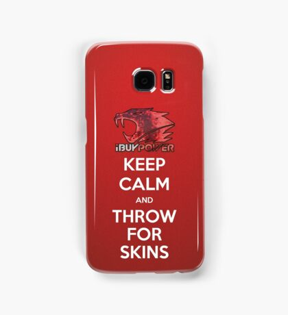 iBUYPOWER Keep Calm and Throw for Skins Samsung Samsung Galaxy Case/Skin