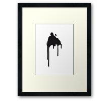 patch blob Framed Print