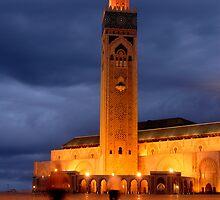 Hassan II Mosque by Mark Eden
