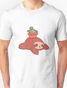 Sloth and Cactus Unisex T-Shirt