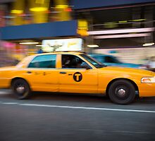 New York Taxi by Mark Eden