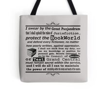The Oath Of The BookWorld Tote Bag
