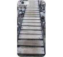 Bridge in Mt. Rainier National Park iPhone Case/Skin