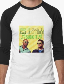 "Psych ""Suck It"" Men's Baseball ¾ T-Shirt"