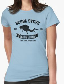 Scuba Steve Scuba Squad Womens Fitted T-Shirt