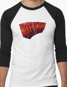 ▼▲ Mike-Ro-Wave ▲▼ Men's Baseball ¾ T-Shirt