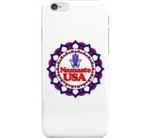 NAMASTE USA HAMSA PEACE YOGA HAND iPhone Case/Skin