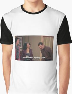 Parks and Rec, Mona Lisa and Craig Graphic T-Shirt