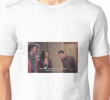 Parks and Rec, Mona Lisa and Craig Unisex T-Shirt