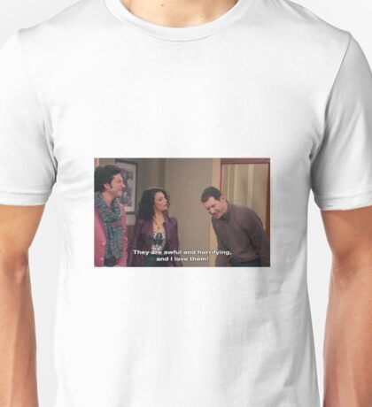 Parks and Rec, Mona Lisa and Craig Unisex T-Shirt