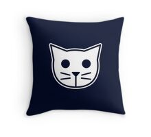 Meow Meow Beenz Throw Pillow