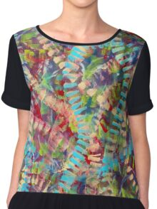 Intricately Connected Chiffon Top