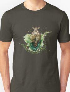 Run Rhino Run Unisex T-Shirt