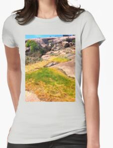 Dry yet green ~ Womens Fitted T-Shirt