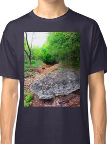 Little cave under trees Classic T-Shirt