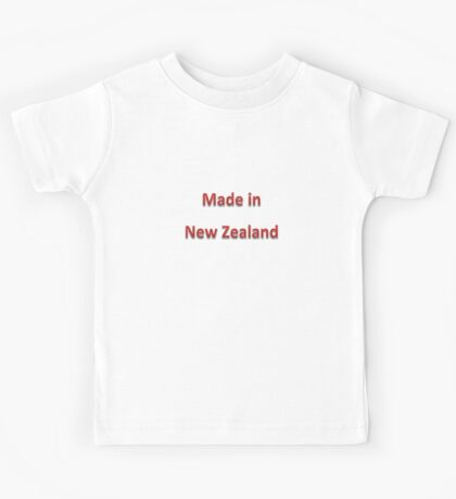 Made in New Zealand Kids Tee