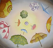 Umbrella Vortex by Heather Holland by Heatherian