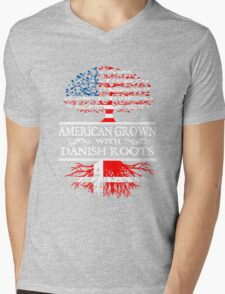 Danish - American Grown With Danish Roots Mens V-Neck T-Shirt