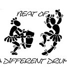 """Beat Of A Different Drum"" Artwork by Carter L. Shepard""   by echoesofheaven"