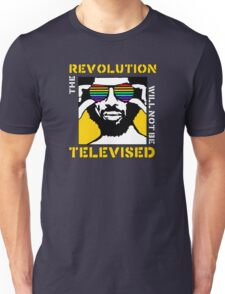 REVOLUTION WILL NOT BE TELEVISED GIL SCOTT HERON Unisex T-Shirt