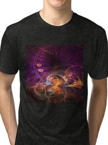 Fairy Grove - Abstract Fractal Artwork Tri-blend T-Shirt