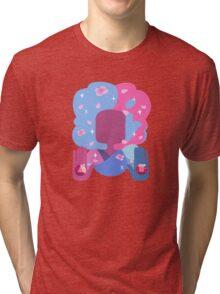 Garnet - Cotton Candy Pastel Tri-blend T-Shirt