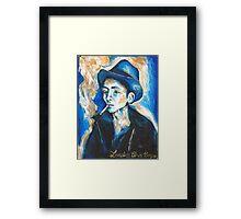 Lovesick Blues Boy Framed Print
