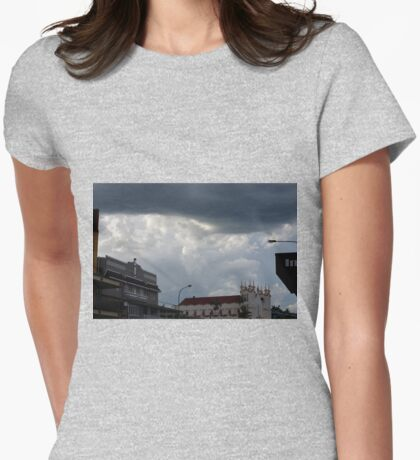 Foreboding Womens Fitted T-Shirt