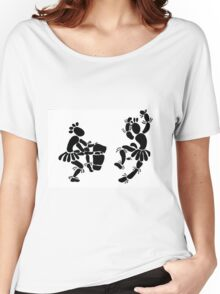 """""""Beat Of A Different Drum"""" Artwork by Carter L. Shepard""""   Women's Relaxed Fit T-Shirt"""
