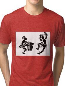 """Beat Of A Different Drum"" Artwork by Carter L. Shepard""   Tri-blend T-Shirt"