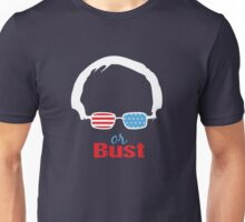 Bernie or Bust (dark blue background) Unisex T-Shirt