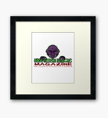 Monster Magic T-Shirts & Hoodies Framed Print