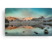There's Gold in them there hills - Blea Tarn Canvas Print
