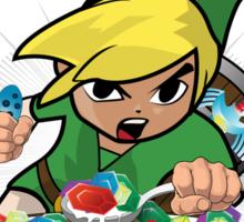 Legend of Zelda Cereal (Rupees) Sticker