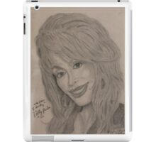 an American singer-songwriter, actress, author, businesswoman, and humanitarian, known primarily for her work in country music iPad Case/Skin