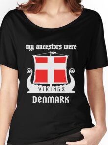 Danish - Vikings Denmark Women's Relaxed Fit T-Shirt