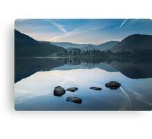 Simplicity - Ullswater Canvas Print