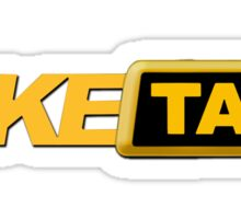 Fake funky taxi Sticker