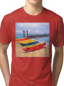 Kayak, anyone? Tri-blend T-Shirt