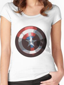 Shield Women's Fitted Scoop T-Shirt